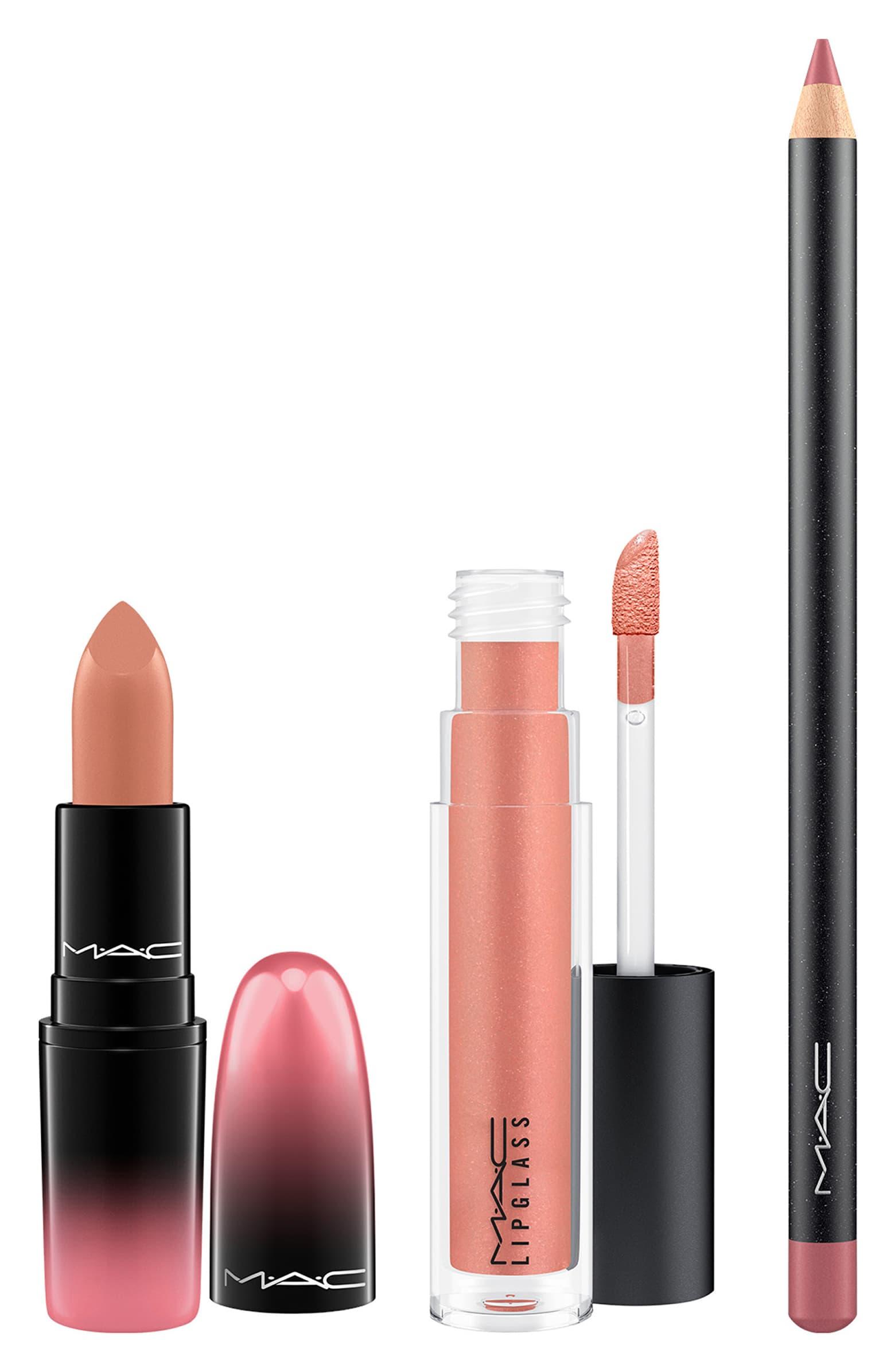 mac lip set