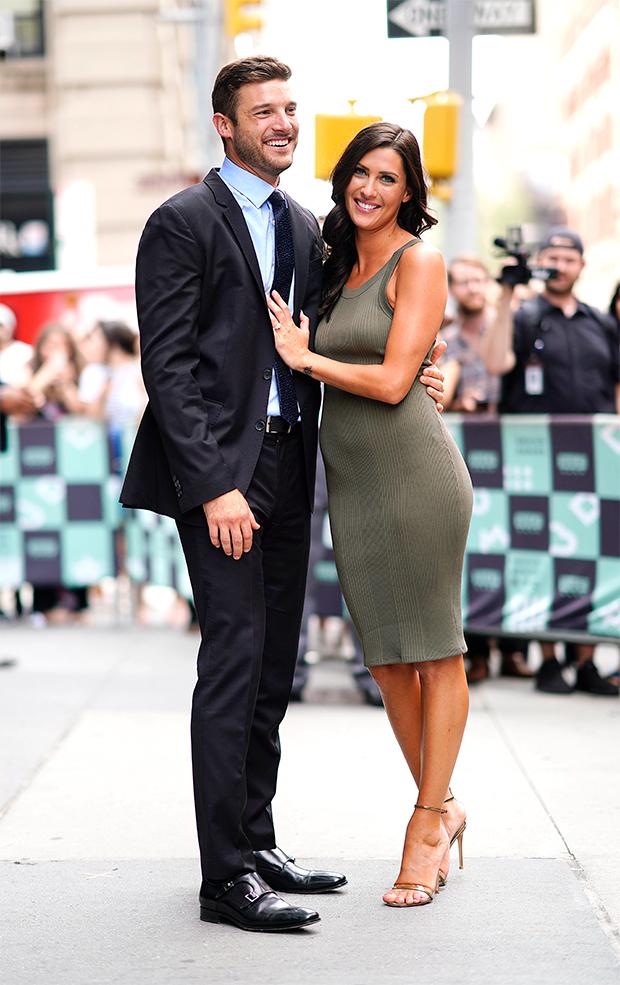 Becca Kufrin and Garrett Yrigoyen in NYC