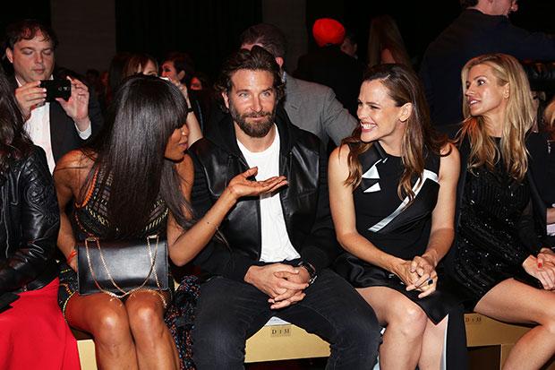 Naomi Campbell Bradley Cooper Jennifer Garner