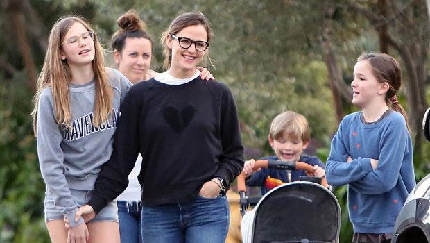 Jennifer Garner and her Kids