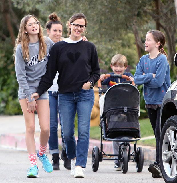 Jennifer Garner and Kids