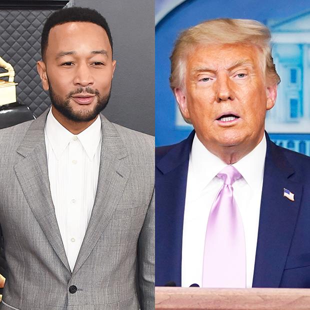 John Legend Donald Trump