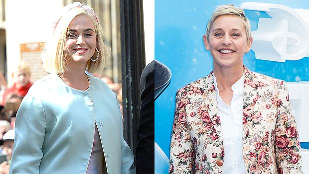 Katy Perry & Ellen DeGeneres