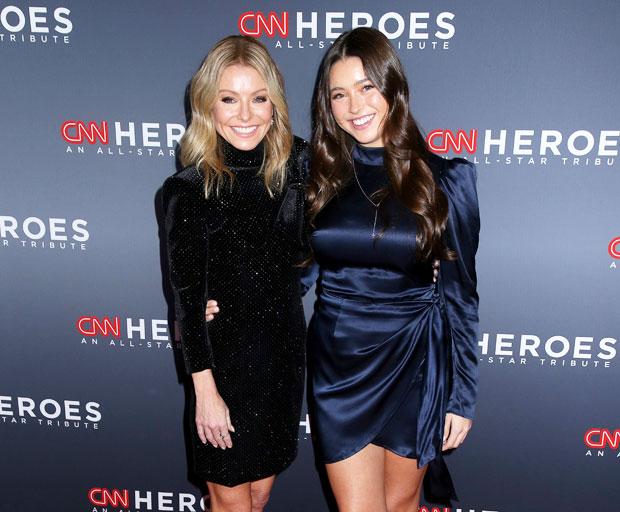 Kelly Ripa and daughter Lola