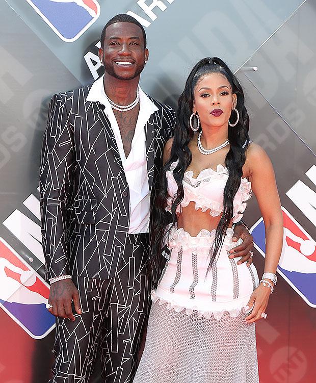 Gucci Mane and wife Keyshia Ka'Oir