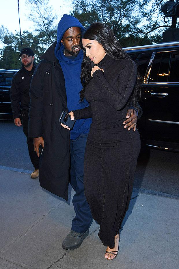 Kanye West & Kim Kardashian
