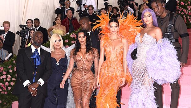 Kardashian-Jenner family at 2019 Met Gala