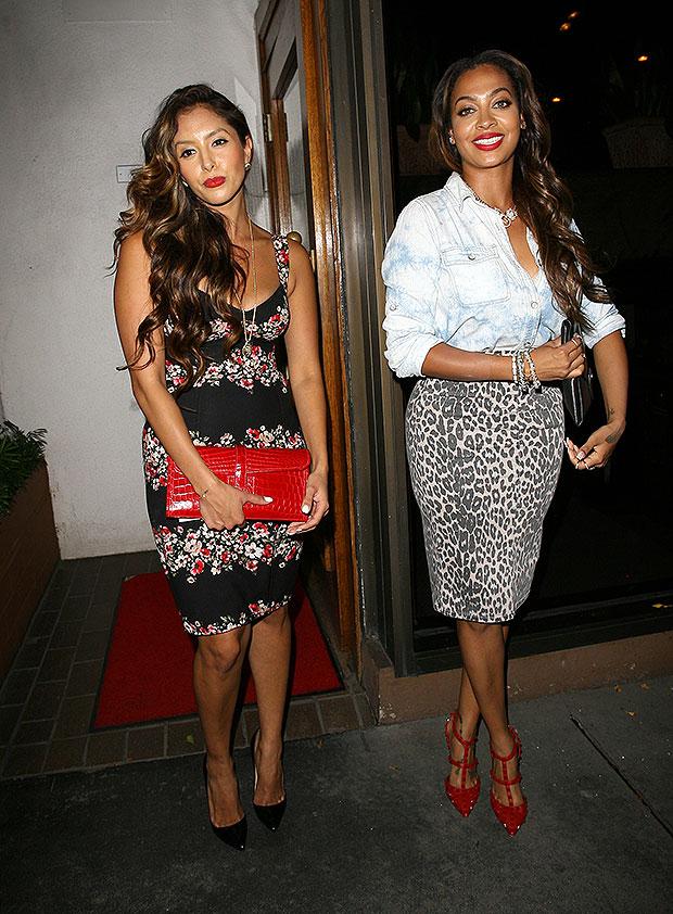 La La Anthony & Vanessa Bryant