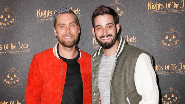 Lance Bass & husband Michael Turchin