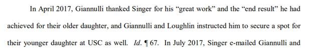 Lori Loughlin court docs