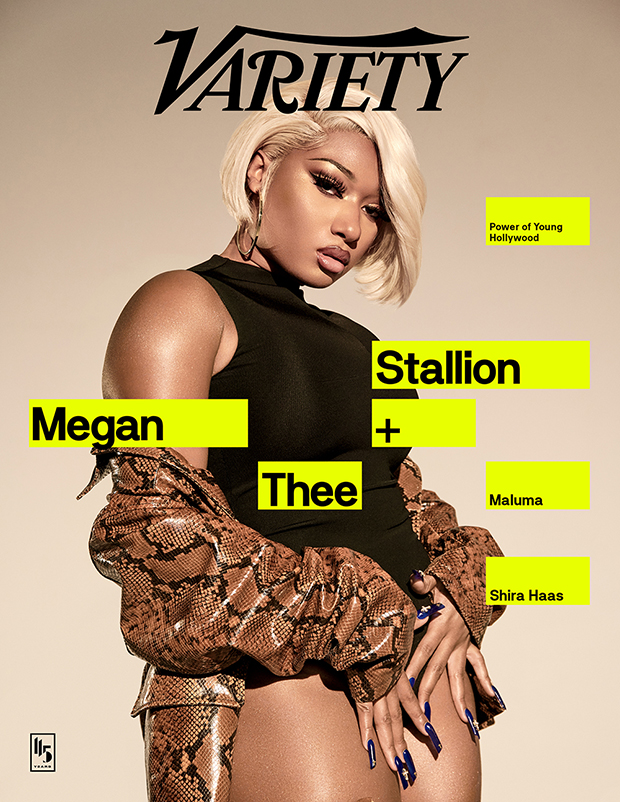 Megan Thee Stallion Variety Power Of Young Hollywood Cover
