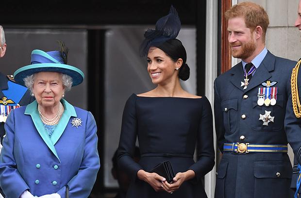 Meghan Markle Prince Harry Queen Elizabeth