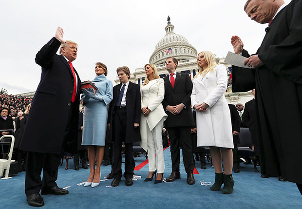 Donald Trump's 2017 inauguration