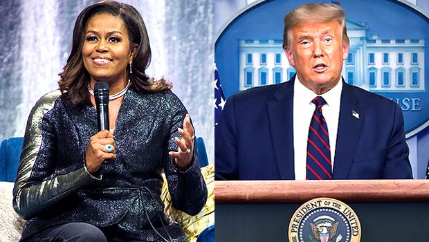 Michelle Obama Donald Trump
