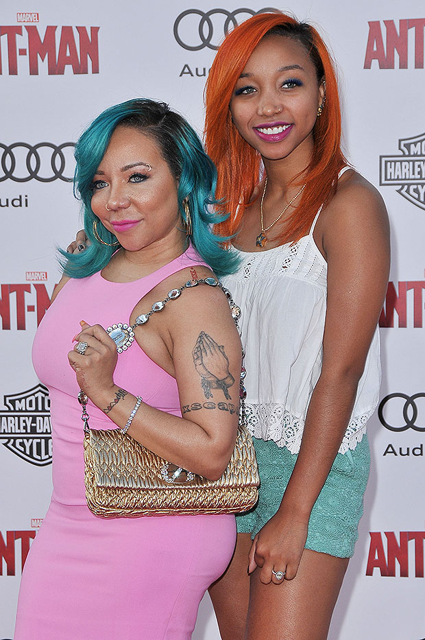 Tiny Harris and Zonnique Pullins