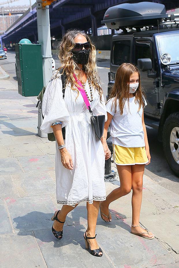 Sarah Jessica Parker and daughter Marion