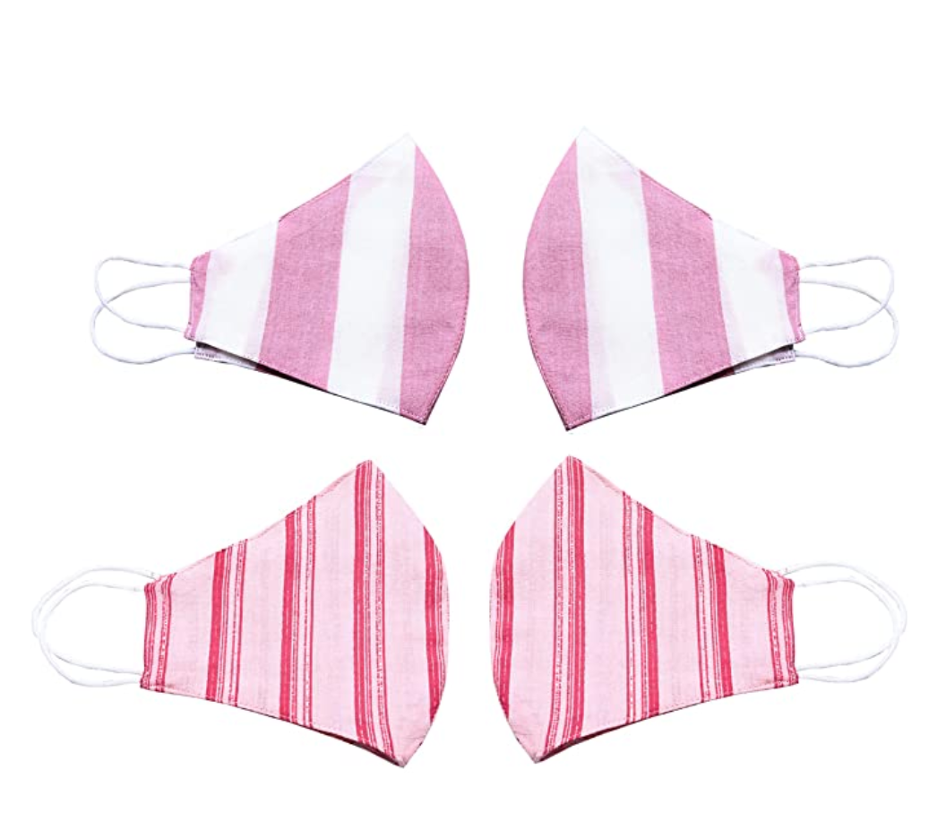 pink masks