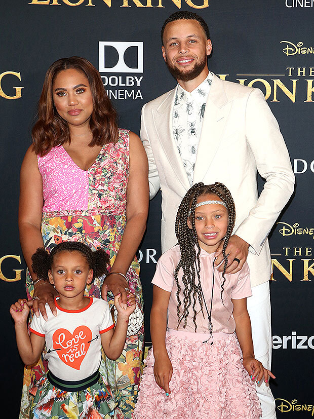 Steph & Ayesha Curry's family
