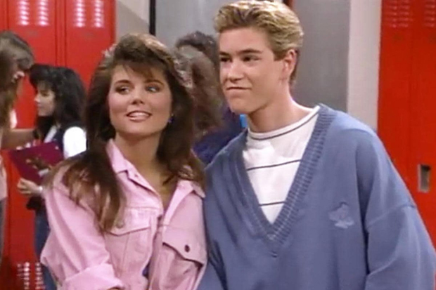 Kelly & Zack in 'Saved By The Bell'