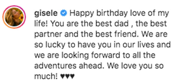 Gisele Bündchen Instagram