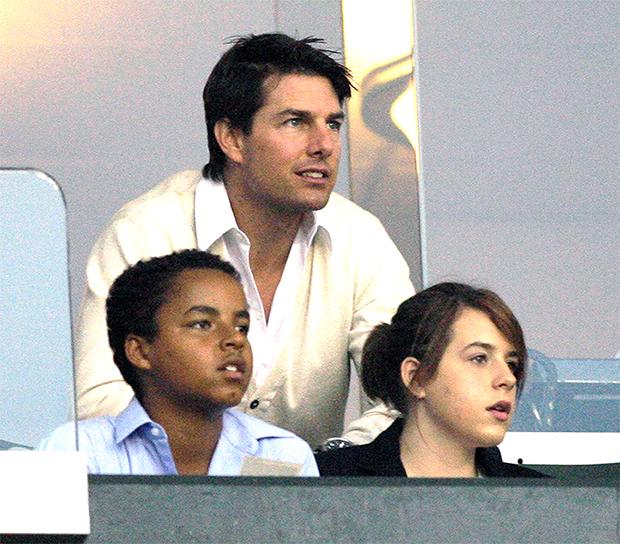 Tom Cruise & his kids