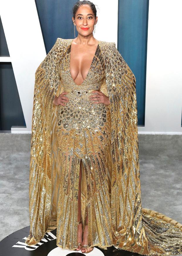 Tracee Ellis Ross at 2020 Vanity Fair Oscar Party