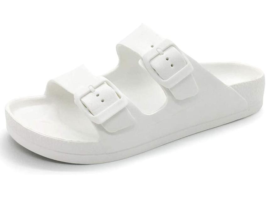 foam buckle sandals