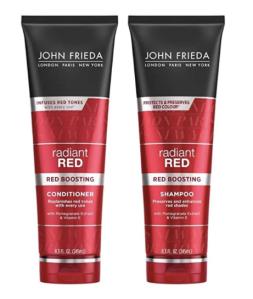 John Frieda Red Colour Shampoo and Conditioner