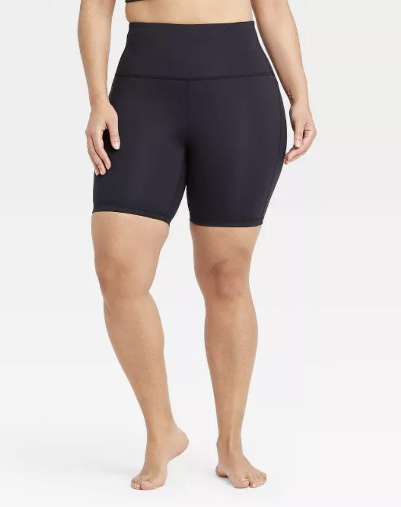 Curvy Biker Shorts