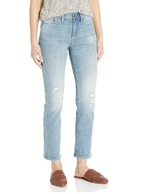Goodthreads Womens High-Rise Slim Straight Jean Brand