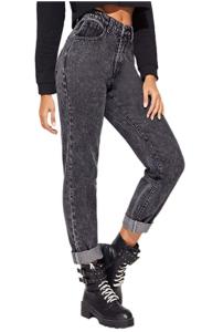 SheIn Black High Waisted jeans