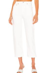 Levi's white jeans