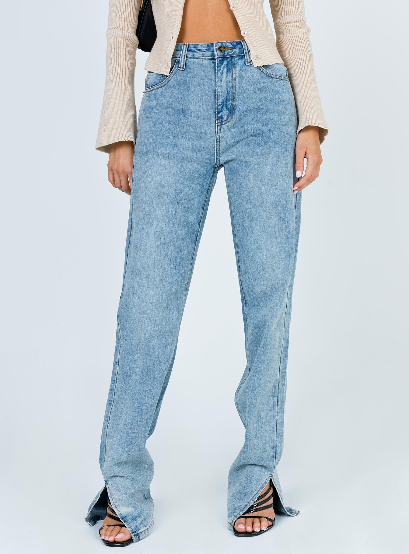 Split Ankle Jeans