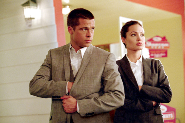 MR. AND MRS. SMITH, Brad Pitt, Angelina Jolie, 2005, TM & Copyright (c) 20th Century Fox Film Corp. All rights reserved.