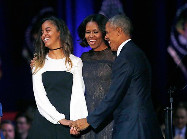 Malia Michelle Barack Obama