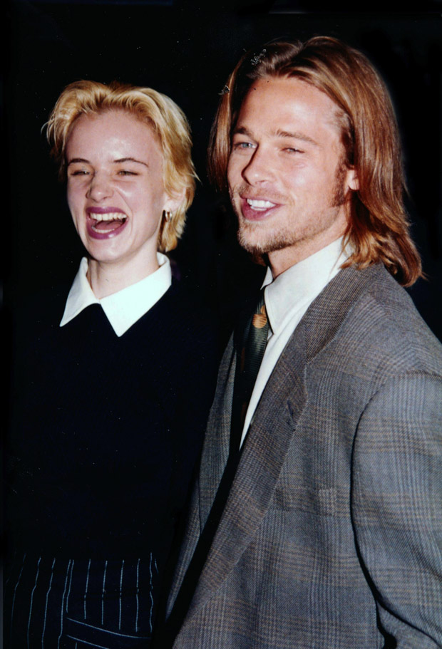 Brad Pitt & Juliette Lewis at the premiere of A River Runs Through It' on October 8, 1992 in New York City. Photo By John Barrett/PHOTOlink/MediaPunch /IPX