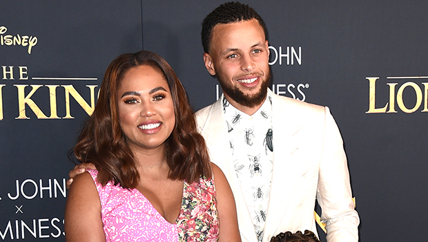 Steph & Ayesha Curry & daughters