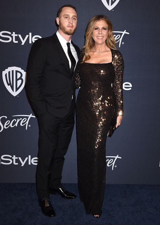 Chet Hanks and Rita Wilson