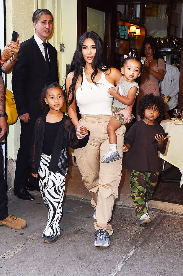 Kim Kardashian & Chicago West