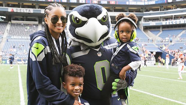 Ciara & her kids