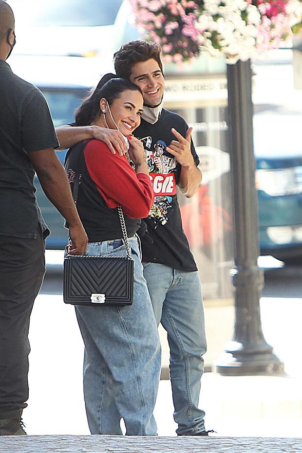 Demi Lovato & Max Ehrich