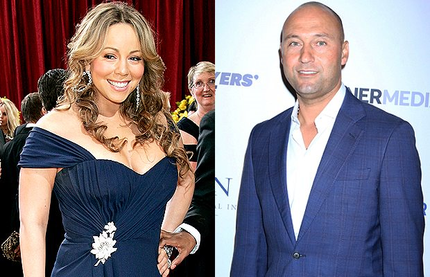 Derek Jeter & Mariah Carey