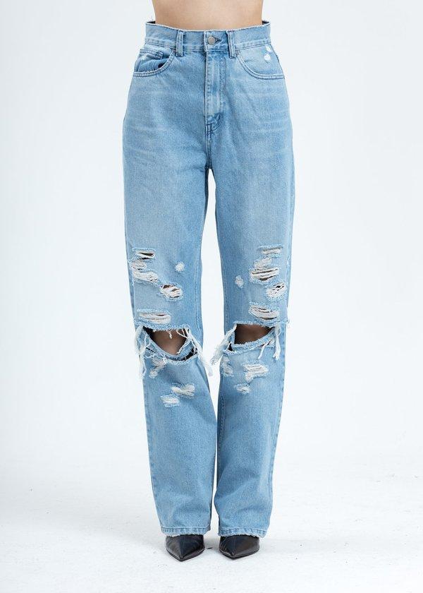 Danielle Guizio Ripped Jeans