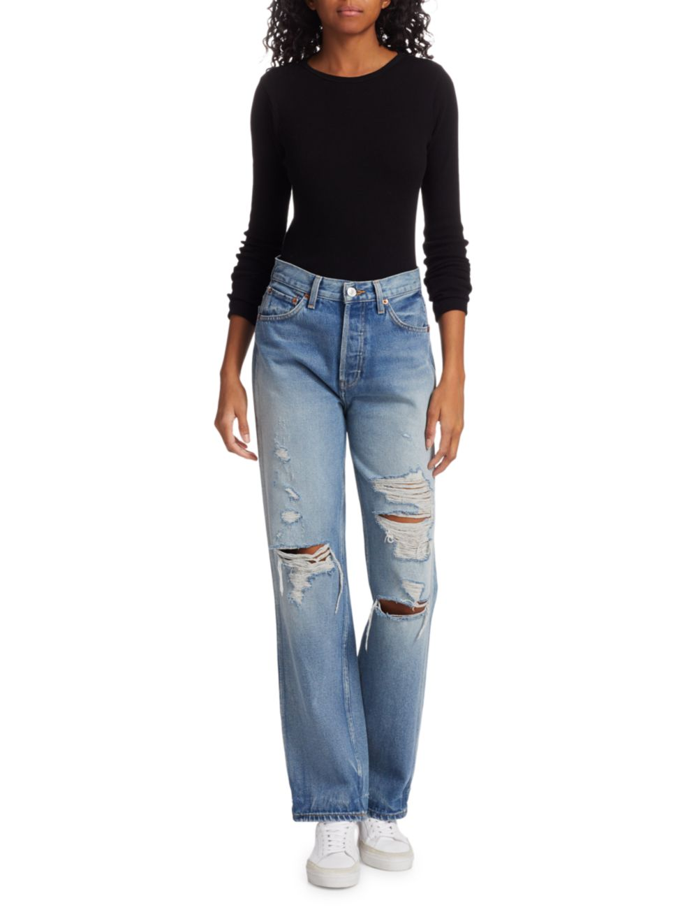 Re/Done Ripped Jeans