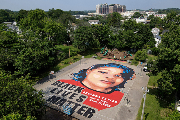 Breonna Taylor mural in Maryland