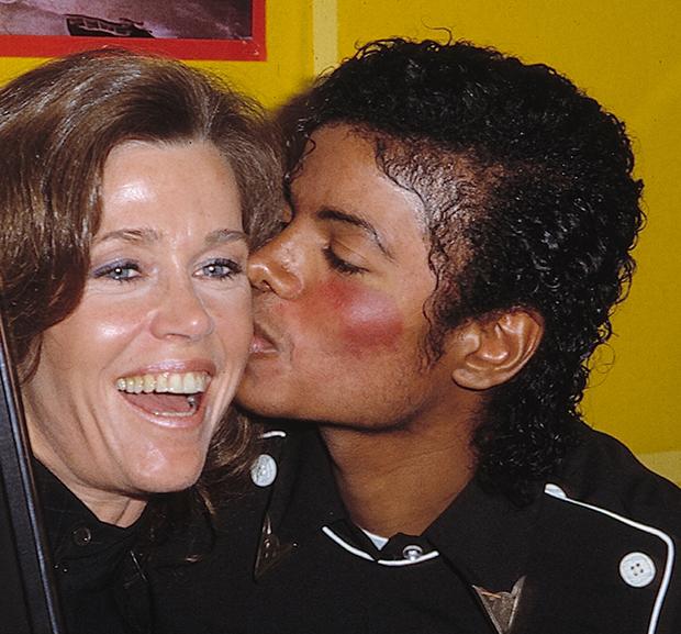 Jane Fonda Michael Jackson