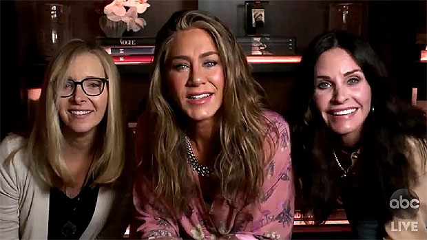 Jennifer Aniston Courteney Cox Lisa Kudrow