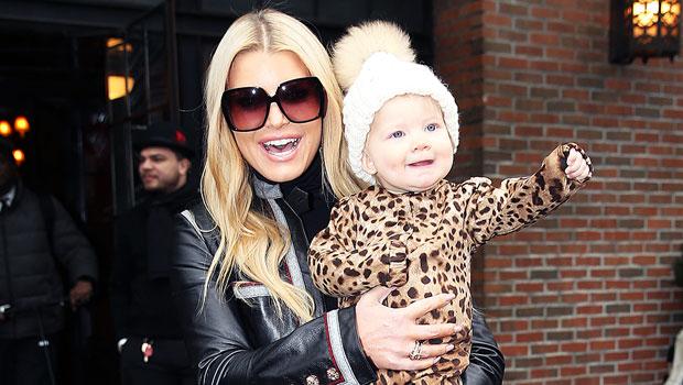 Jessica Simpson with daughter Birdie