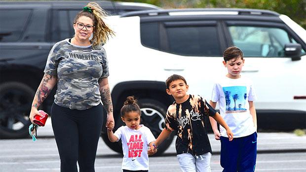 Kailyn Lowry & her kids