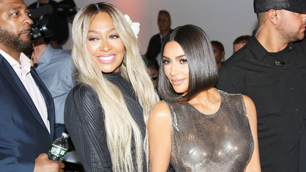 Kim Kardashian La La Anthony